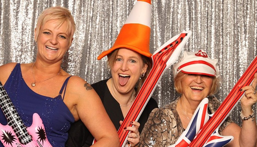 Photobooth at Whittlebury Hall