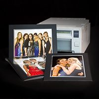 Students can purchase photos on the night Priced at £8 each. Using our hi quality printers they are ready to take away in minutes, mounted and protected in a cellophane bag.
