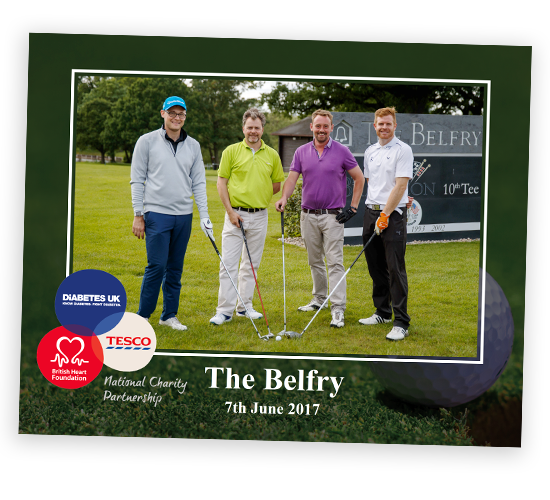 Charity Golf Day Photography