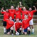 Charity football match photos